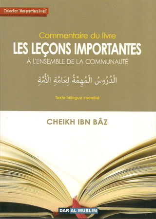 """Commentaire du Livre """"Leçons Importantes""""-0"""