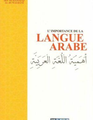 L'Importance De La Langue Arabe-0