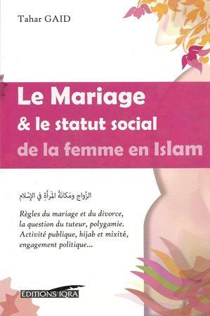 Le Mariage & le statut social de la femme en Islam - Tahar Gaid - Iqra-0
