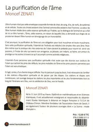 La purification de l'âme - Havre de savoir - Moncef Zenati-6247