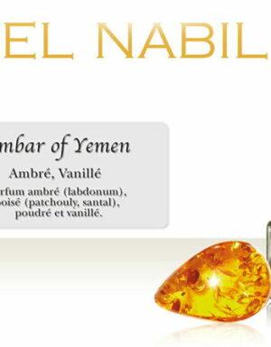 "Parfum el Nabil ""Amber of Yemen"" sans alcool - 5 m-0"