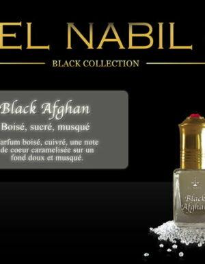 Parfum El Nabil – Black Afghan – 5 ml