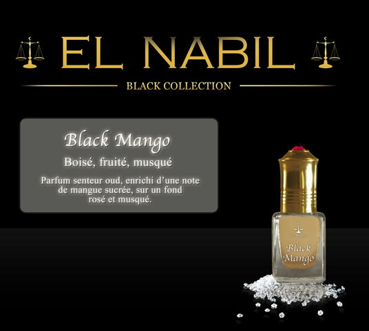 Parfum El Nabil - Black Mango - 5 ml-0