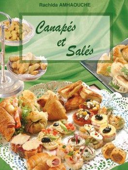 Livre de cuisine : Canapés et Salés