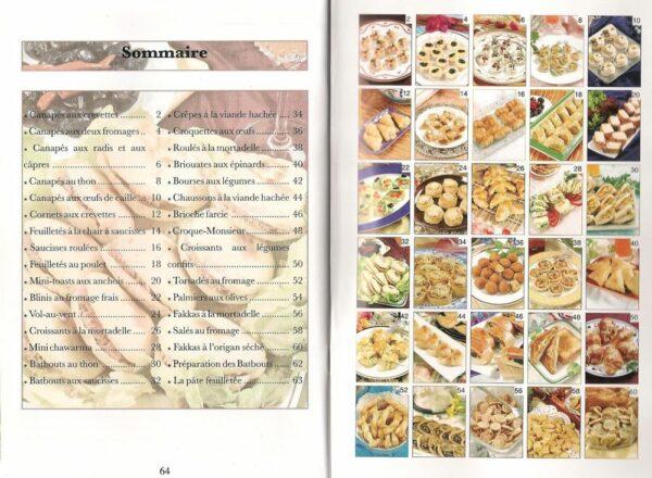 Livre de cuisine : Canapés et Salés-6673
