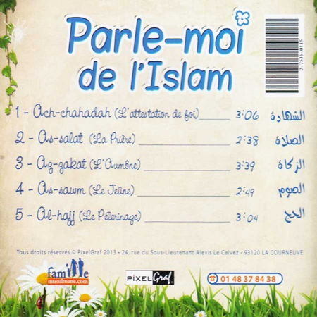 CD Parle-moi de l'Islam (Sans musique) - Pixelgraf et famille musulmane --6737