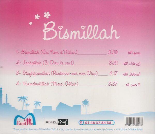 CD Bismillah (sans musique avec percussion ) Pixel Graf et Famille musulmane-6750