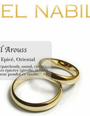 Parfum El Nabil – El Arouss – 5ml