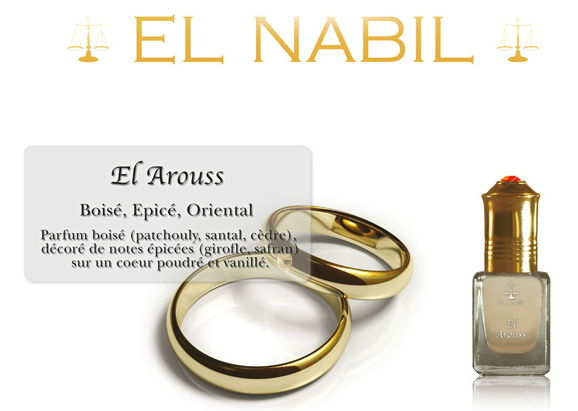Parfum El Nabil - El Arouss - 5ml-0