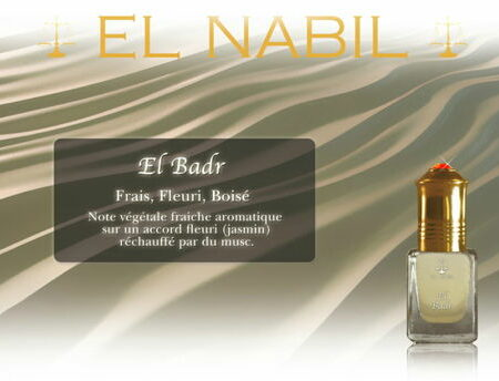 "Parfum El Nabil ""El Badr"" 5 Ml-0"