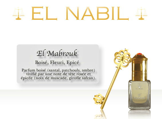Parfum El Nabil - El Mabrouk - 5ml-0