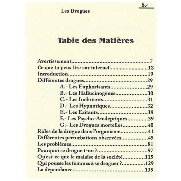 La drogue - Docteur Hébri Bousserouel - La plume Universelle-6824