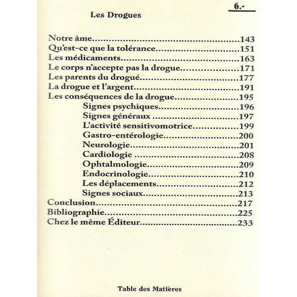 La drogue - Docteur Hébri Bousserouel - La plume Universelle-6822