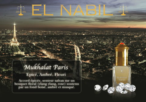Parfum El Nabil - Mukhalat Paris - 5ml-0