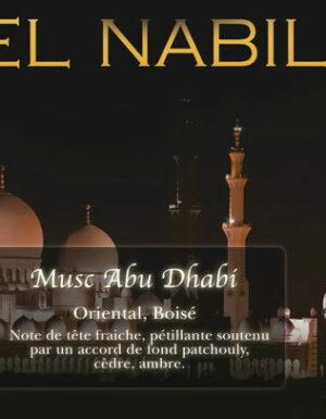 Parfum El Nabil – Musc Abu Dhabi – 5ml