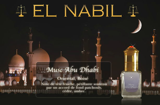 Parfum El Nabil - Musc Abu Dhabi - 5ml-0