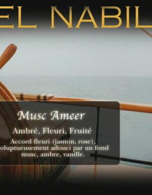 Parfum El Nabil – Musc Ameer – 5ml
