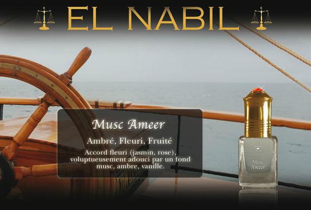 Parfum El Nabil - Musc Ameer - 5ml-0