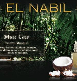 """Parfum El Nabil """"Musc Coco"""" 5 Ml"""