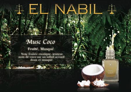 """Parfum El Nabil """"Musc Coco"""" 5 Ml-0"""