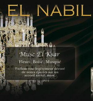 Parfum El Nabil - Musc El Ksar - 5ml-0