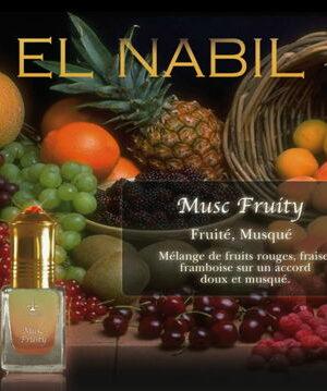 Parfum El Nabil - Musc Fruity - 5ml-0