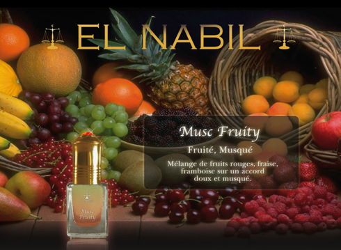 Parfum El Nabil - Musc Fruity - 5ml-0