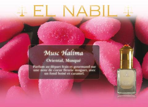 "Parfum El Nabil ""Musc Halima"" 5 Ml-0"