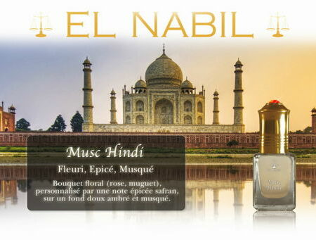 Parfum El Nabil - Musc Hindi - 5ml-0