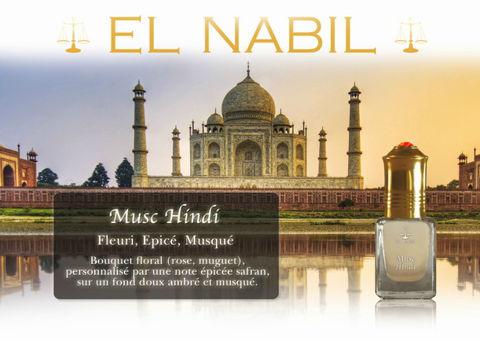 Parfum El Nabil - Musc Hindi - 5ml-0