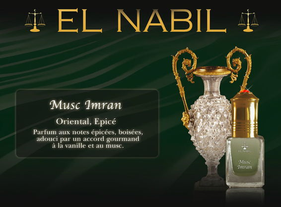 Parfum El Nabil - Musc Imran - 5ml-0