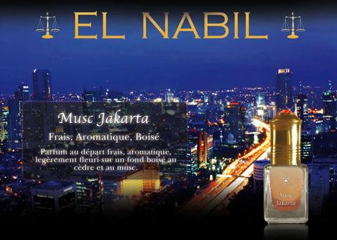 Parfum El Nabil - Musc Jakarta - 5ml-0