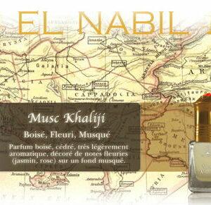 Parfum El Nabil «Musc Khaliji» 5 Ml
