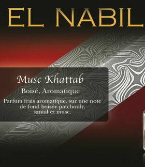 Parfum El Nabil – Musc Khattab – 5ml