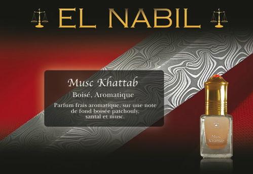 Parfum El Nabil - Musc Khattab - 5ml-0