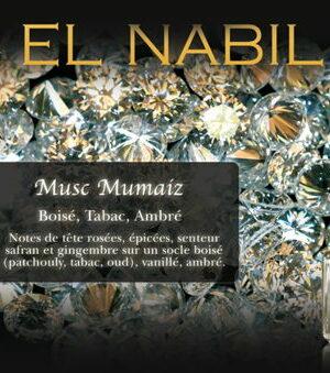 Parfum El Nabil – Musc Mumaiz – 5ml