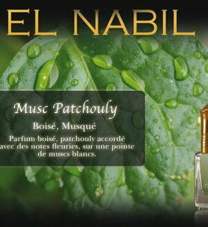 Parfum El Nabil «Musc Patchouli» 5 Ml