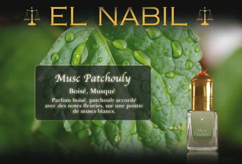 """Parfum El Nabil """"Musc Patchouli"""" 5 Ml-0"""