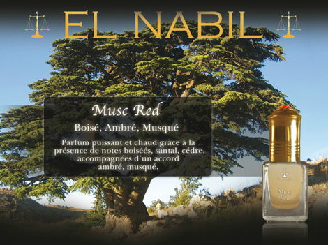 "Parfum El Nabil ""Musc Red"" 5 Ml-0"