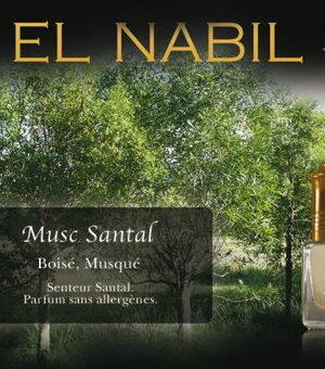 Parfum El Nabil - Musc Santal - 5ml-0