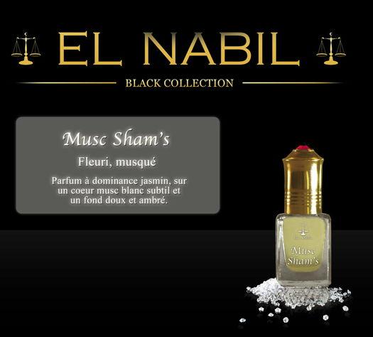 Parfum El Nabil - Musc Sham's - 5 ml-0