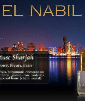 Parfum El Nabil - Musc Sharjah - 5ml-0
