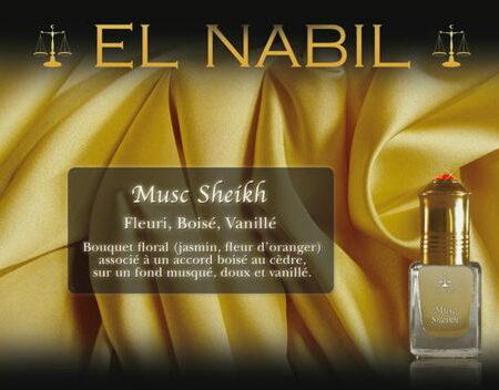 Parfum El Nabil - Musc Sheikh - 5ml-0