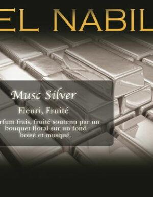 Parfum El Nabil – Musc Silver – 5ml