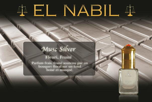 Parfum El Nabil - Musc Silver - 5ml-0