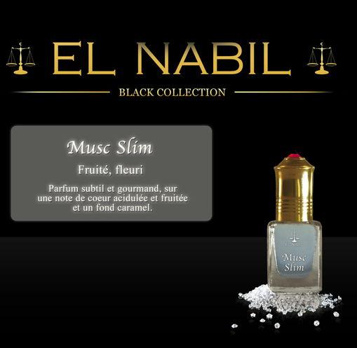 Parfum El Nabil - Musc Slim - 5 ml-0