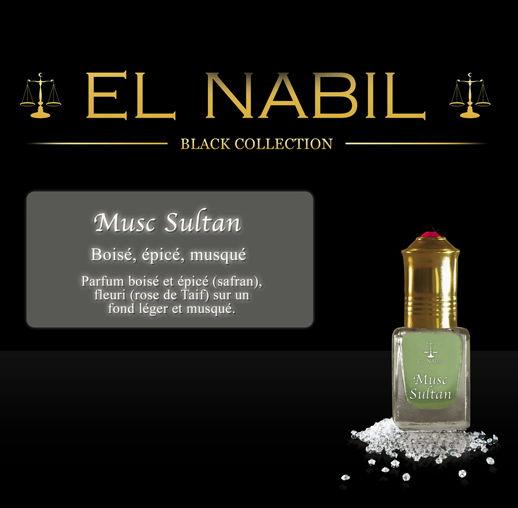 Parfum El Nabil - Musc Sultan - 5 ml-0