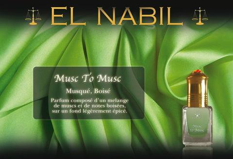 Parfum Musc to Musc (Mixte) - 5ml-0