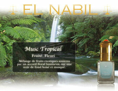 Parfum El Nabil - Musc Tropical - 5ml-0