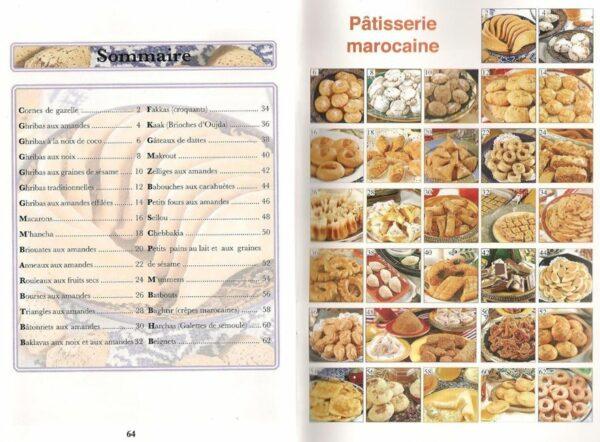 Livre de cuisine Patisserie marocaine-6670